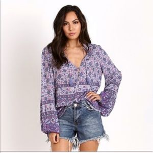 EUC XS SPELL & THE GYPSY COLLECTIVE KOMBI BLOUSE